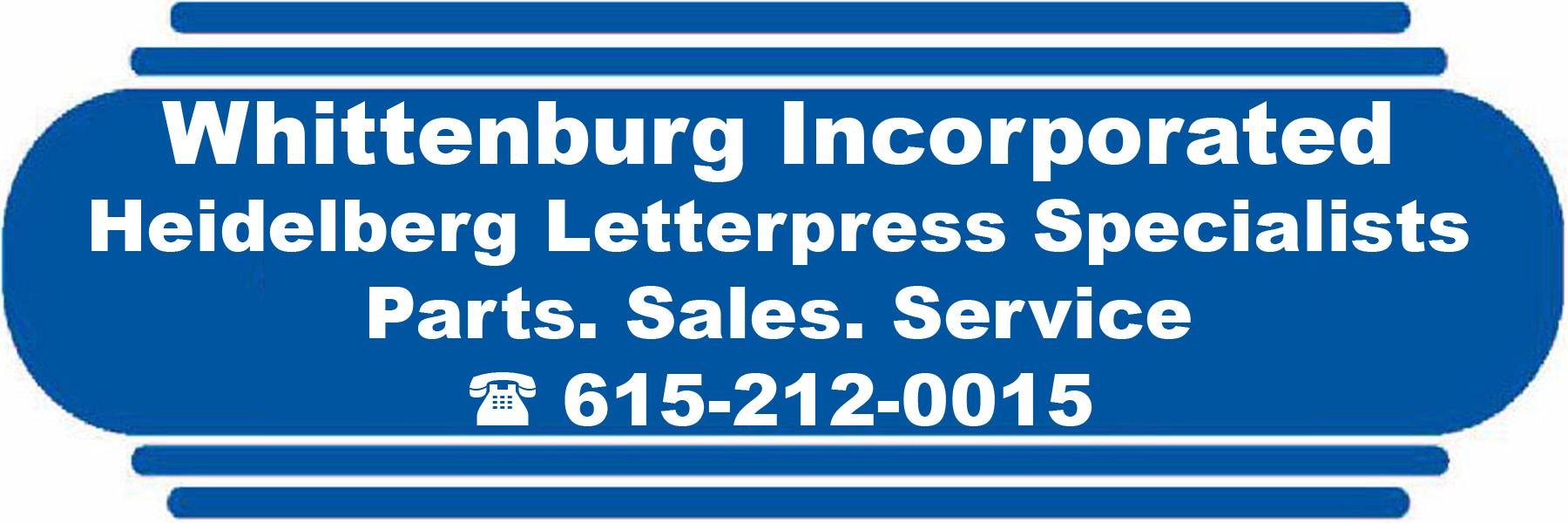 Whittenburg Inc | Heidelberg specialists